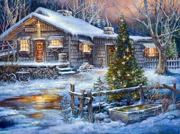 Noël Paysage De Neige