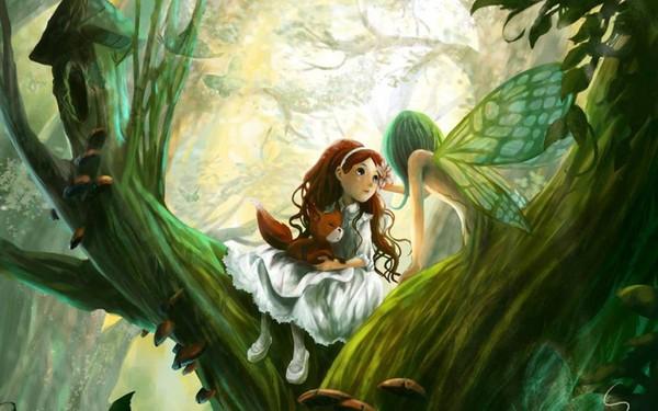 Images fees et elfes page 6 - Dessin elfes et fees ...