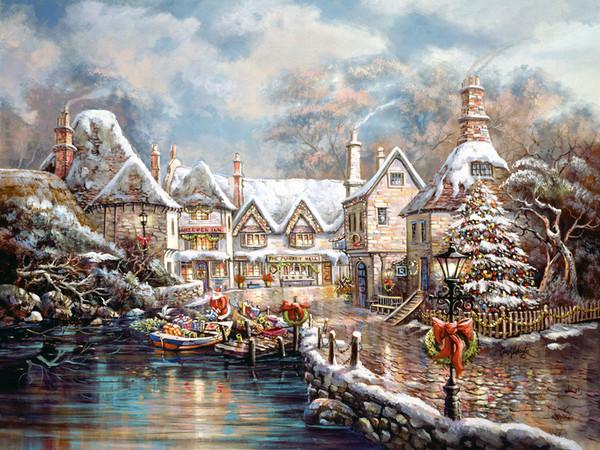 Les images de Noël (Paysages et illustrations féeriques) Ec6bf112