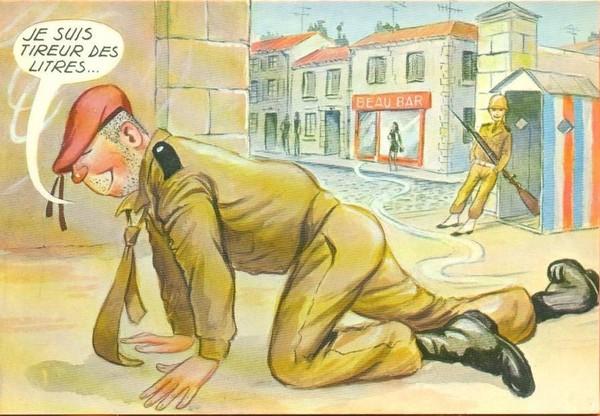 Carte humour de Carriére
