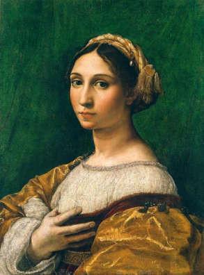Peintre célèbre- Raphael Michelangelo Portrait Raphael