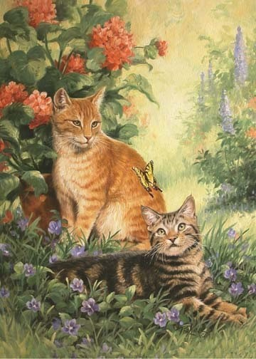 Animaux de Linda Picken (chats)