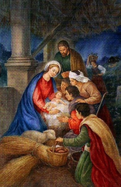 The Nativity Oil Painting
