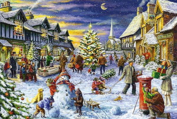 Les images de Noël (Paysages et illustrations féeriques) Fd809d90