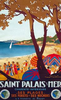 Affiches de france anciennes page 10 - Office du tourisme de saint palais sur mer ...