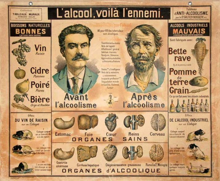 Favori affiches anciennes alcool tabac JT96