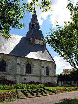 L'église de la Somme