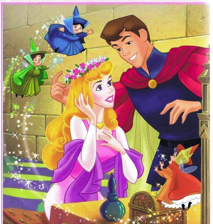Princesse Aurore et le Prince Philippe