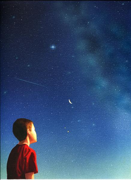 Poeme poste par roland - Image ciel etoile ...