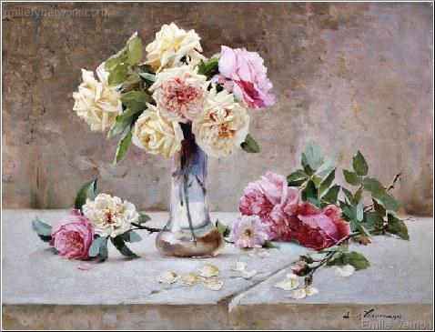 le peintre des fleurs decorative