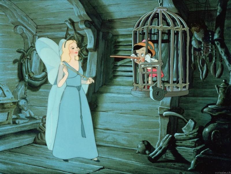 Pinocchio disney - Poisson rouge pinocchio ...