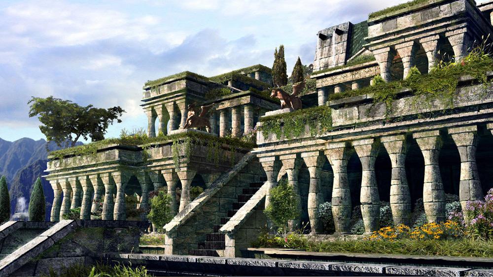Les merveilles du monde page 2 - Jardin suspendus de babylone ...