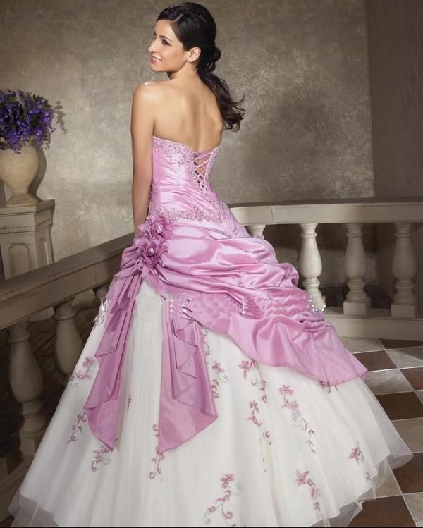 Robe Mariee Noir Et Rose Modèles Populaires De Robes