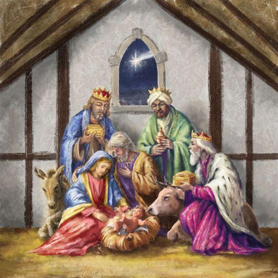Noel gifs et images la nativite - Image religieuse gratuite a imprimer ...