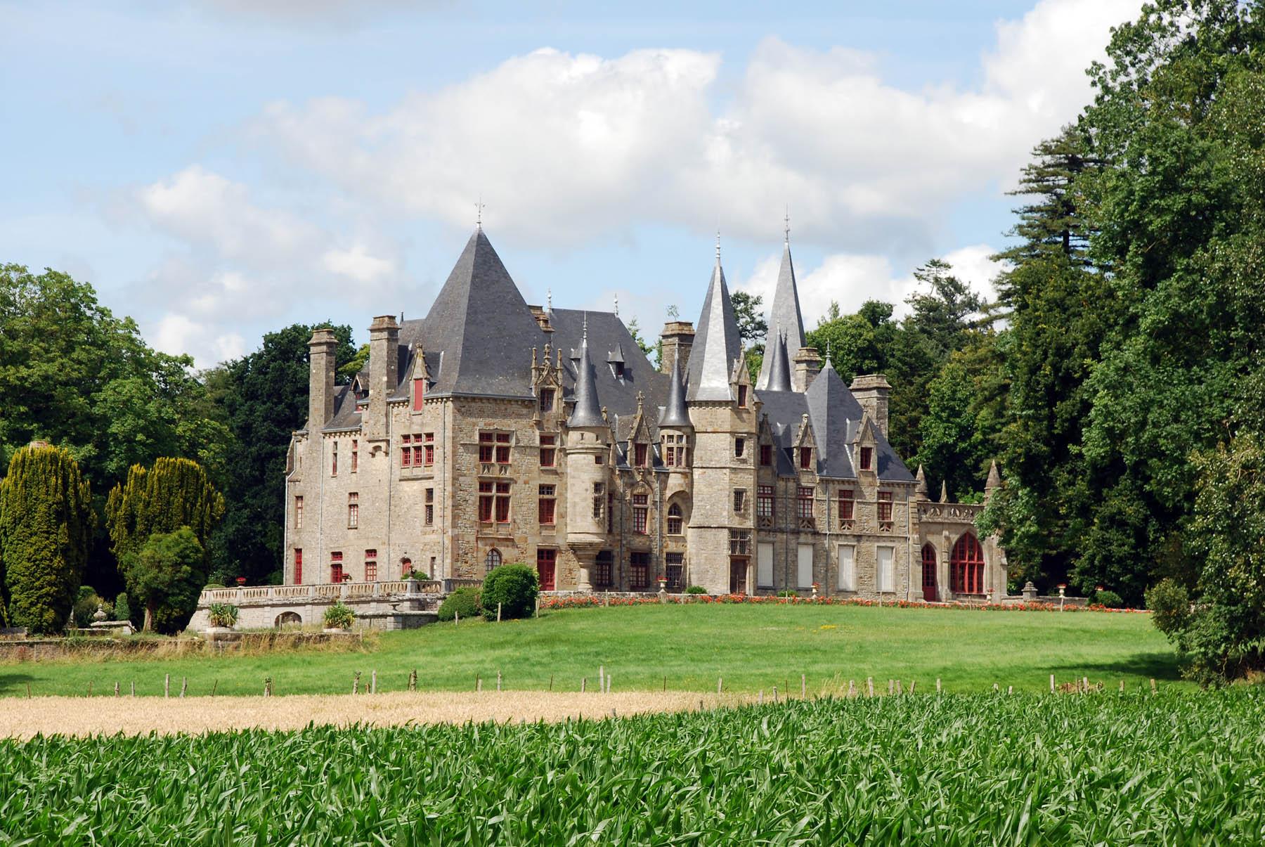 Chateaux de France # Le Chateau Du Bois
