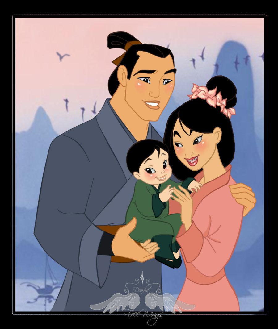 family mulan