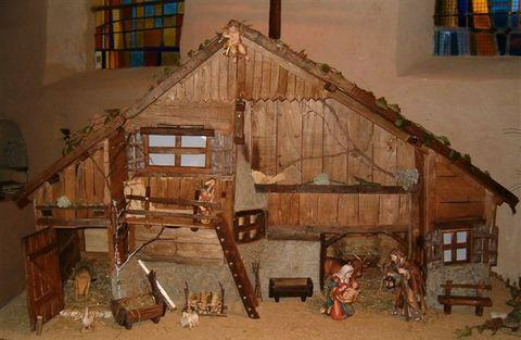 creche de noel en bois trouvez le meilleur prix sur voir avant d 39 acheter. Black Bedroom Furniture Sets. Home Design Ideas