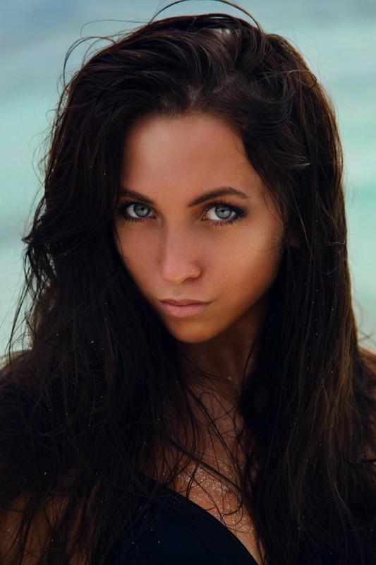 magnifique visage de femme