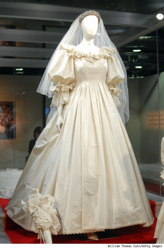 Robe de mariee de la princesse diana