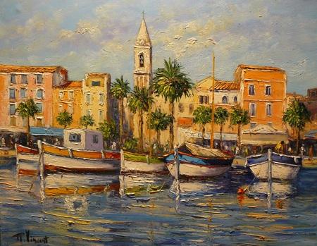 peintre vincent rallo paysages