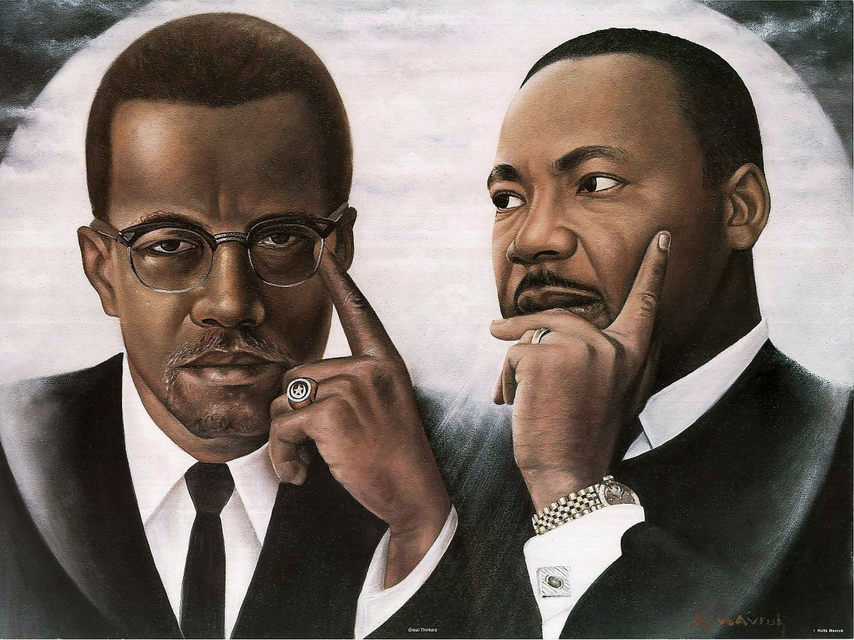 a comparison of the visions of martin luther king jr and malcolm x History indicates that martin luther king jr and malcolm x were prolific civil rights figures who had contrasting views on black life history would not b.
