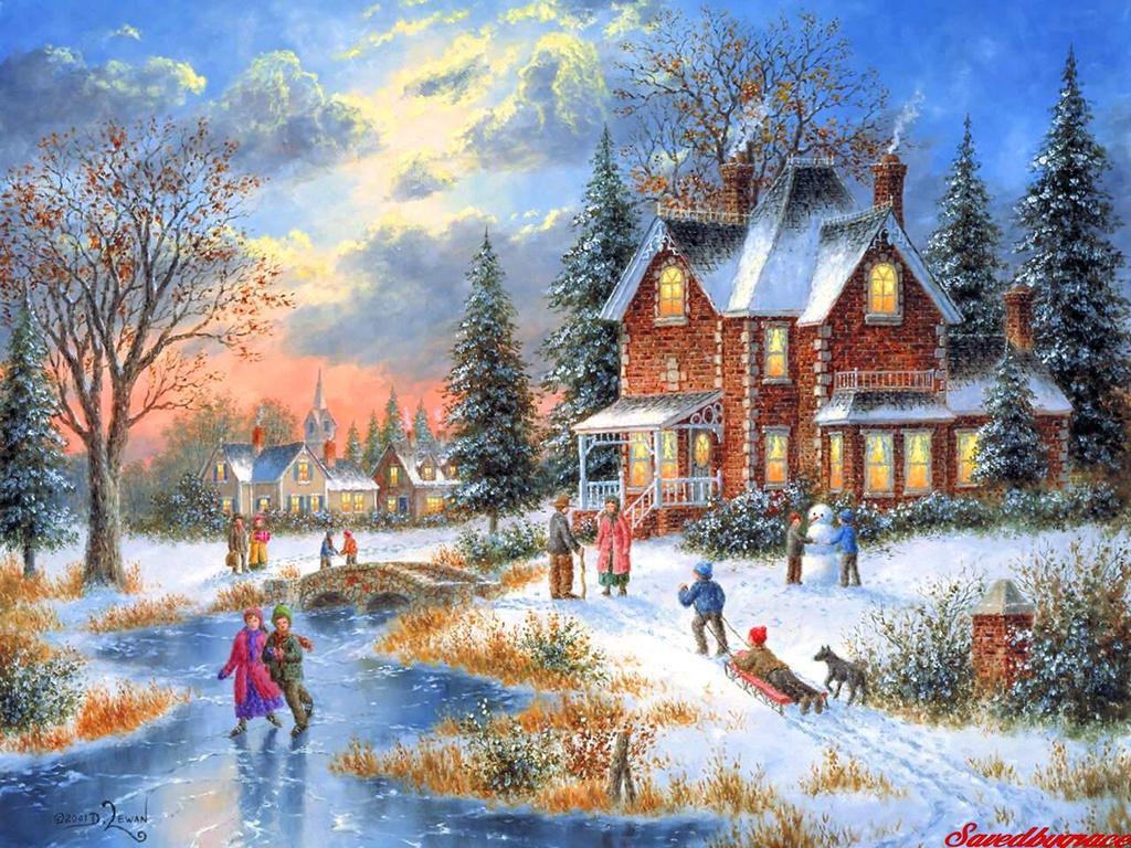 Gifs et belles images de noel page 15 - Decorarte pinturas ...