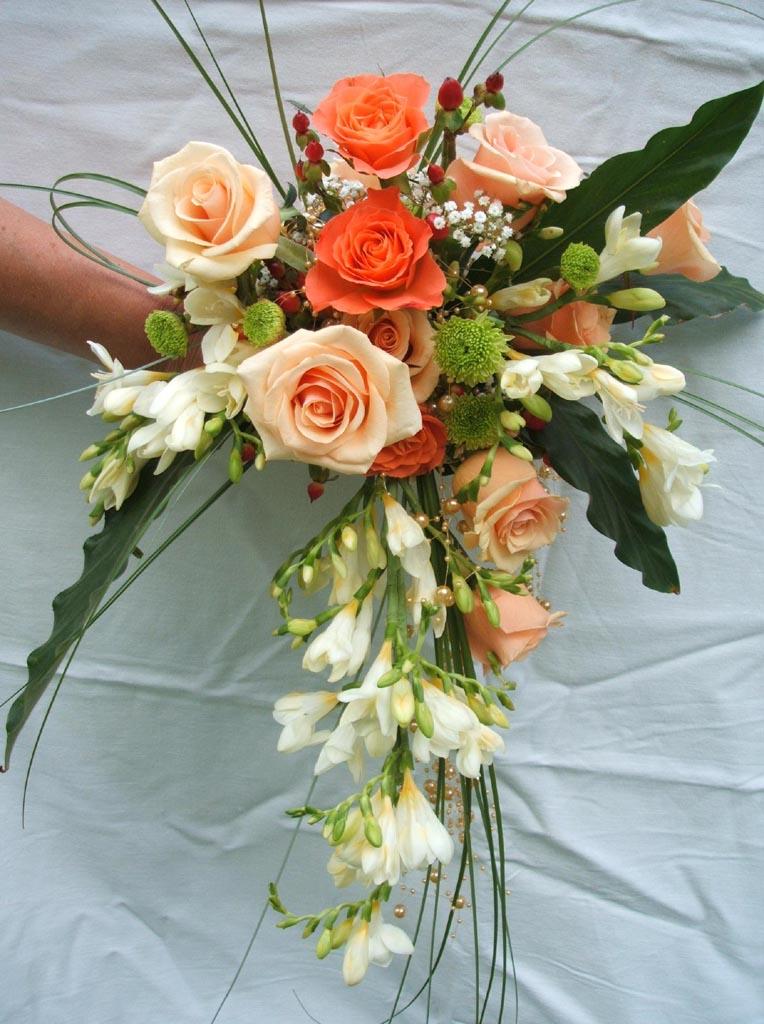 Jolis Bouquets De Mariees