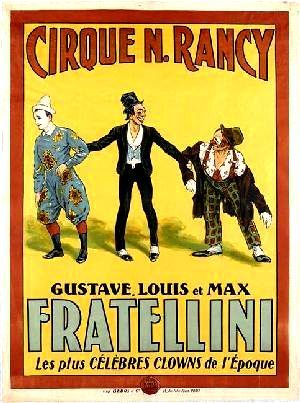 affiche cirque gratuite
