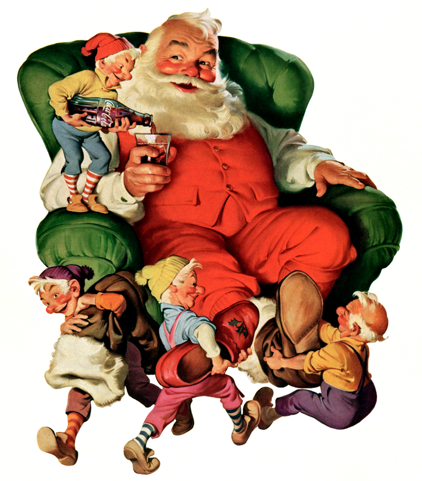 Magie du pere Noël