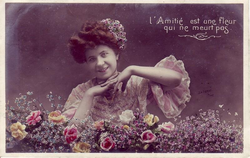 Cartes anciennes femmes